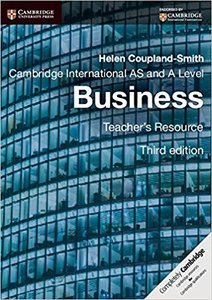 Cambridge International AS and A Level Business Teacher's Resource CD-ROM