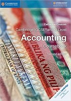 CAIE IGCSE会计 Cambridge IGCSE® and O Level Accounting Coursebook