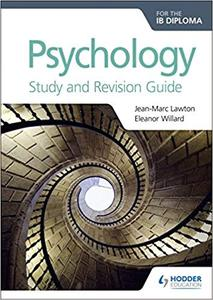 IB DP 心理学 —— Psychology for the IB Diploma Study and Revision Guide
