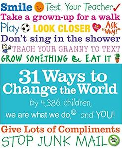 IB PYP —— 31 Ways to Change the World