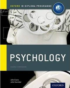 IB DP 心理学 —— IB Psychology Course Book: Oxford IB Diploma Programme