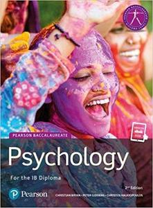 IB DP 心理学 —— Psychology : for the IB diploma
